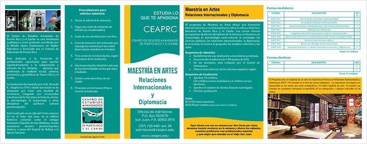 Maestria en Relaciones Internacionales
